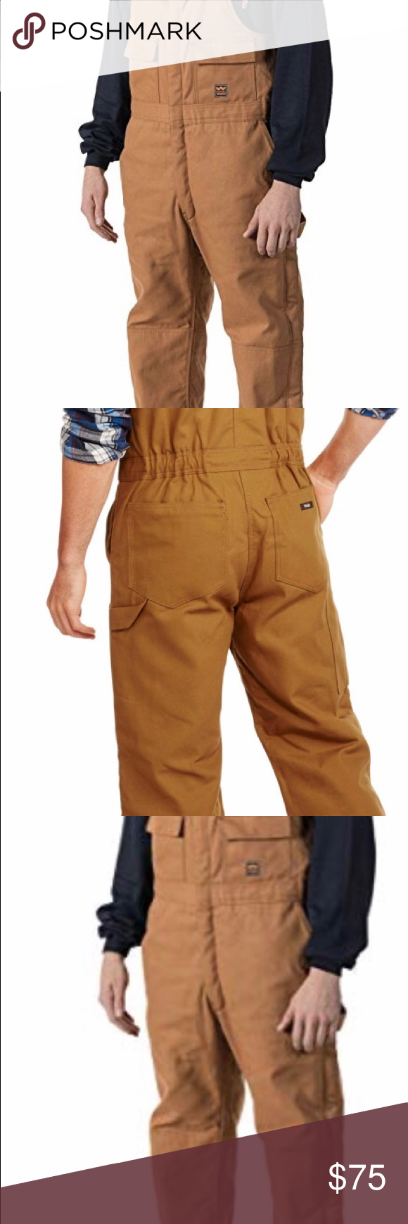 new walls zero zone insulated bib overalls large on walls workwear insulated coveralls id=97708