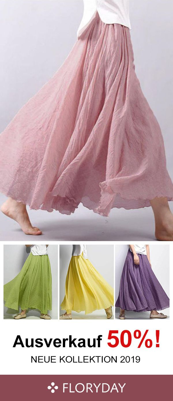 Photo of Casual maxi skirt