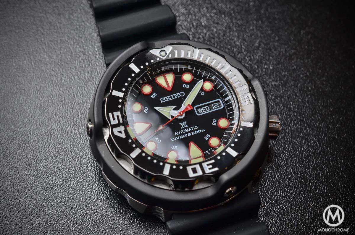 Seiko Prospex Automatic Diver 200m ... - Monochrome Watches