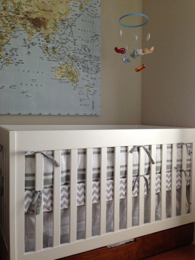 Baby Boy Room Themes Travel: World Map / Travel Inspired Nursery