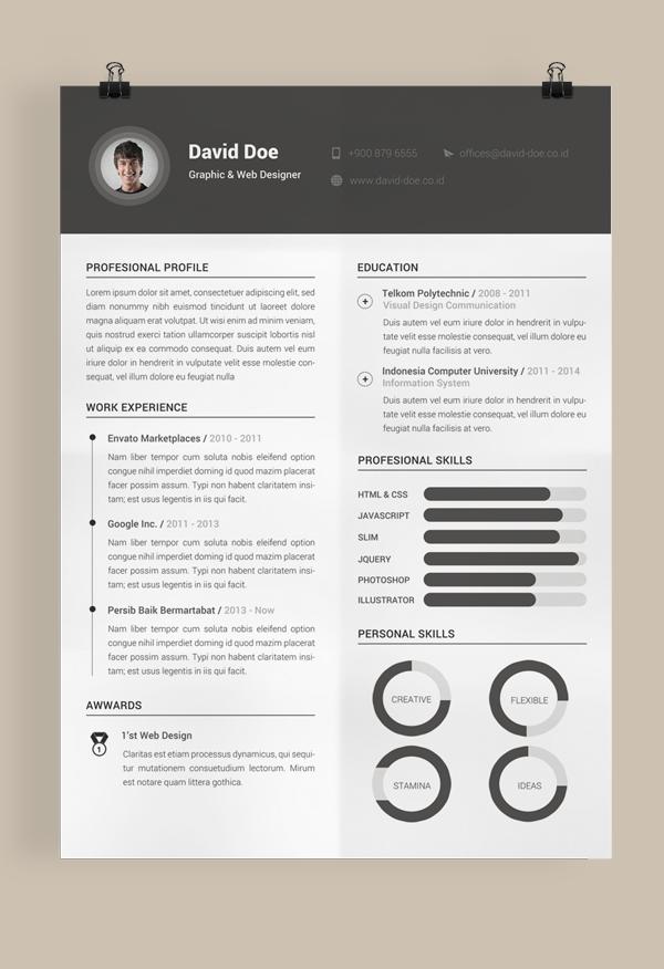 Free Resume Template On Behance Resume Design Resume Layout Resume Template Free