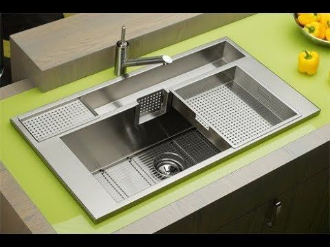 Top 60 Modern Kitchen Sink Design ideas | Latest Kitchen Interior ...