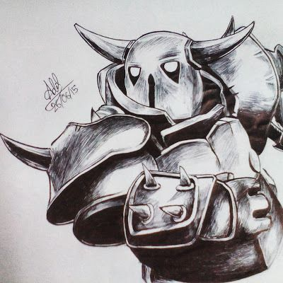 Pekka Clash Of Clans Clash Of Clans Drawings Clash