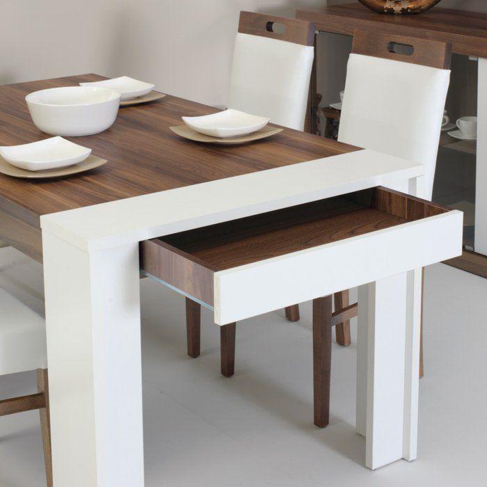 La table de cuisine pliante 50 id es pour sauver d for Table salle manger pour petit espace