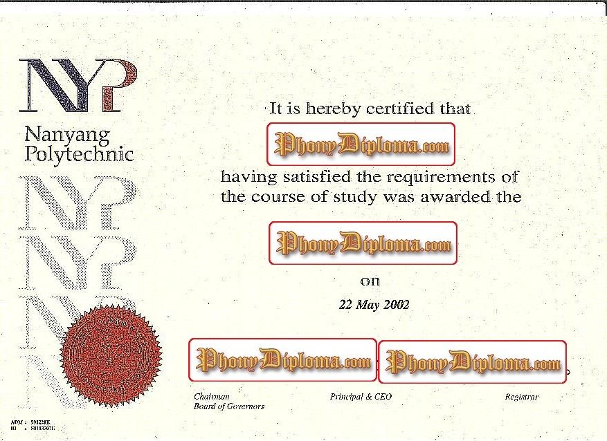 Nanyang Polytechnic Malaysia Singapore Diploma Sample From