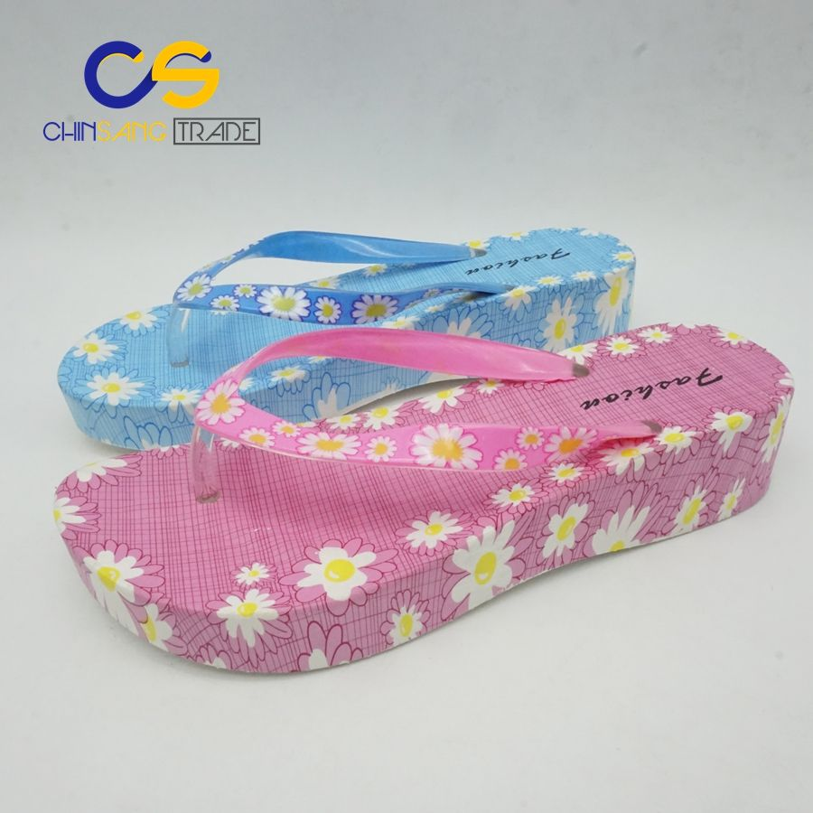 355efc8b8 2017 Wholesale New Design PVC Fancy Ladies Chappal Summer Flip Flop Slipper