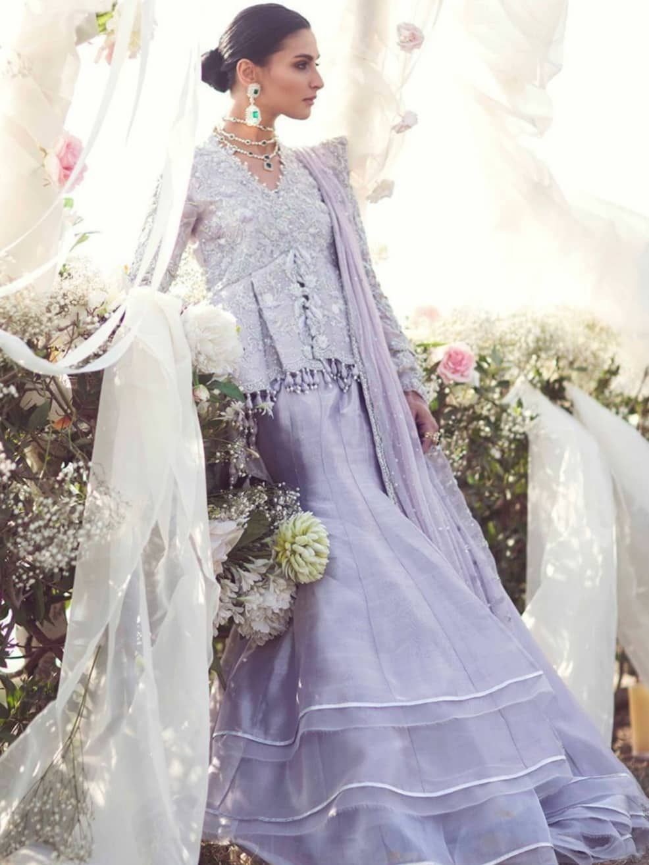 Beautiful Eye Catching Indian Lavender Lehenga B2029 Lavender Lehenga Indian Wedding Outfits Pakistani Bridal Dresses [ 1315 x 986 Pixel ]