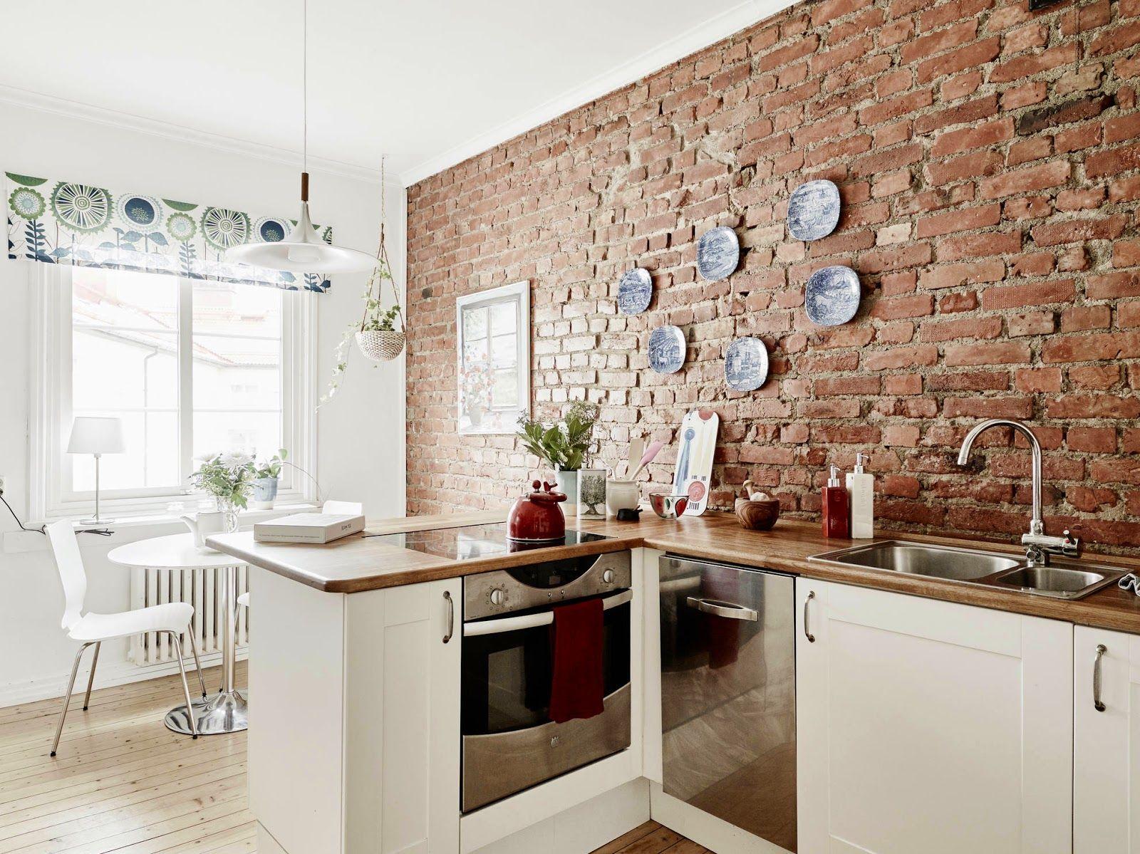 Risultati immagini per cucine mattoni | cucine | Mattoni a ...