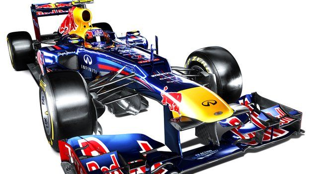 The new Redbull Entry for 2012