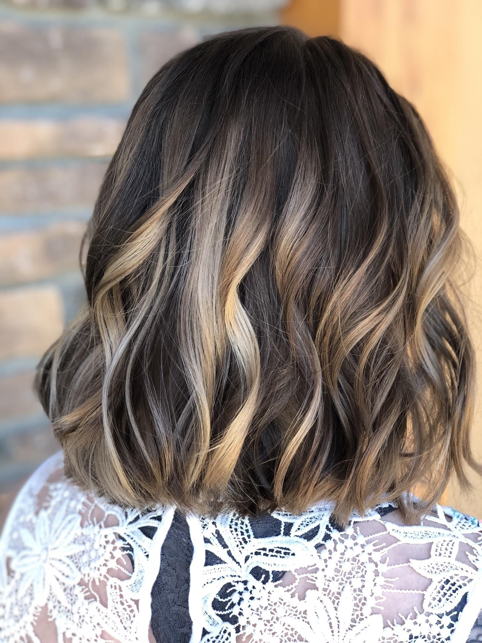 Color 75 Most Requested Services For Shoulder Length Hair Starting At 75 Picture Above Is A Above Shoulder Hair Above Shoulder Length Hair Hair Lengths