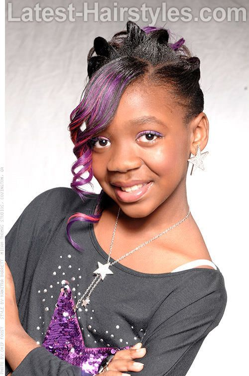 20 Cute Hairstyles for Black Kids Trending in 2021   Kids ...