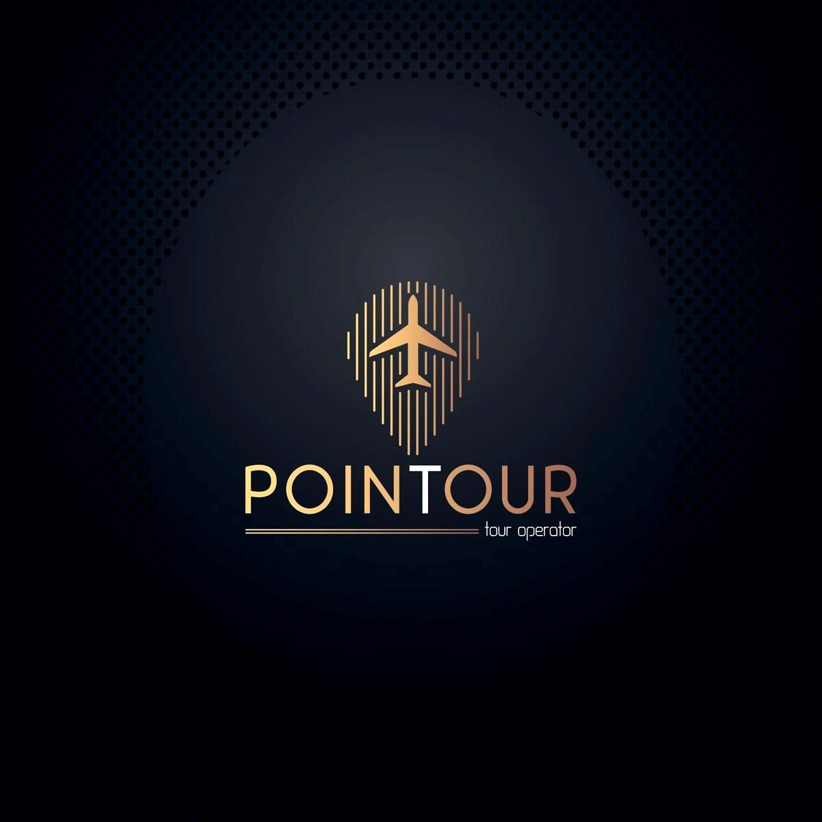 Tour tourism company logos created from gold effect navigation and plane vector design .EPS .JPG