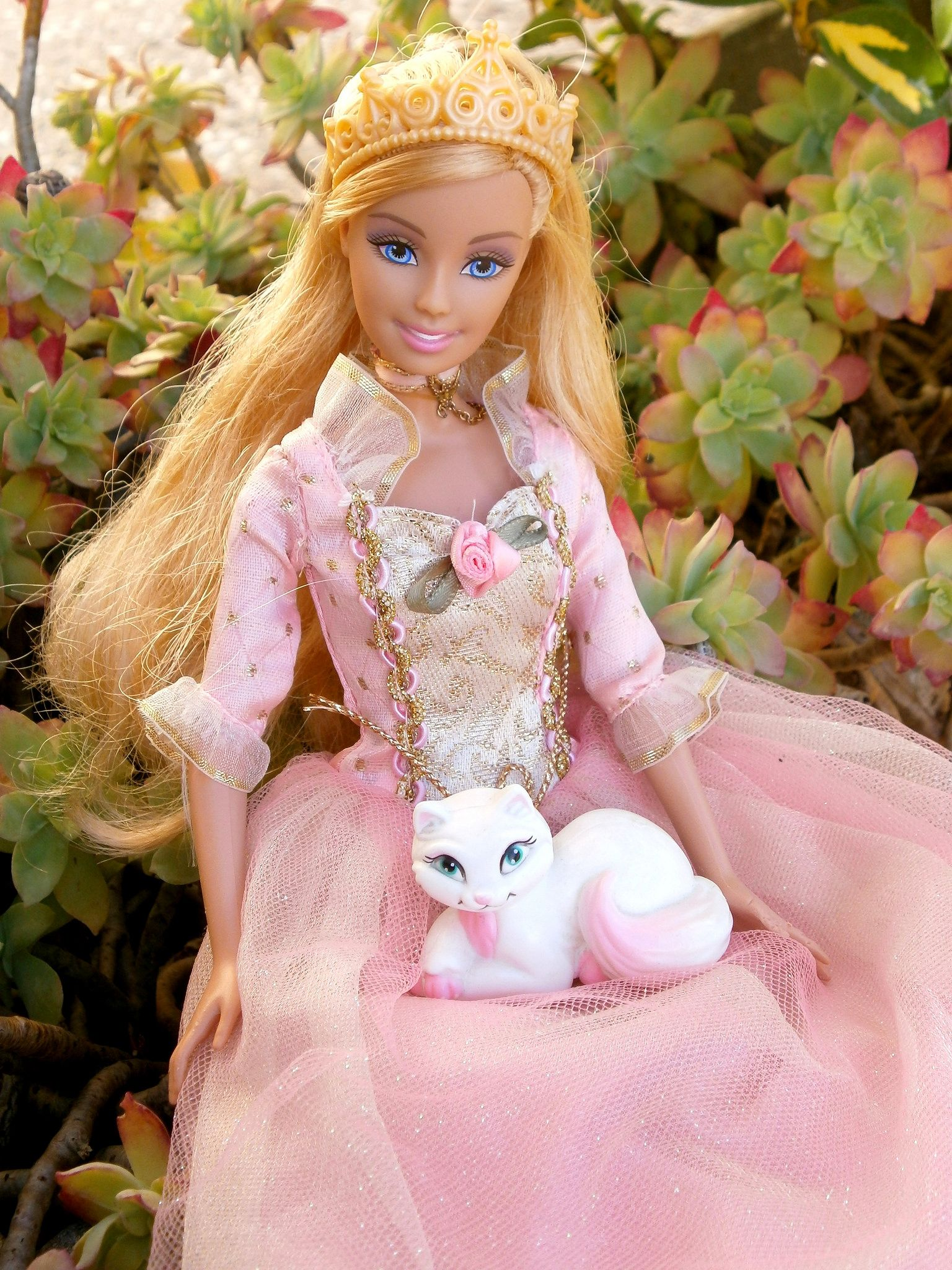 Singing Princess Anneliese Barbie With Serafina With Images