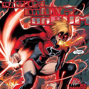 #Supergirl #RedLantern #DcComics …
