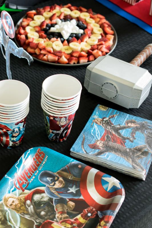 Avenger Party Ideas Birthdays Superhero party and Captain america