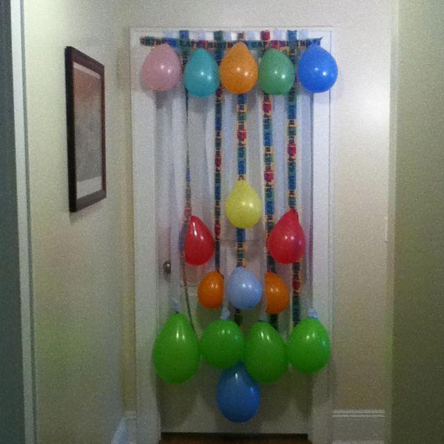 Birthday Door Decoration For Cooper S Second Birthday Thanks Pinterest Birthday Door Decorations Birthday Door Door Decorations