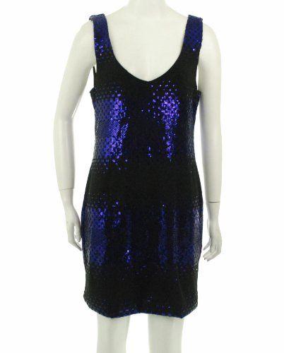 As U Wish Sequin Dress Purple Xl