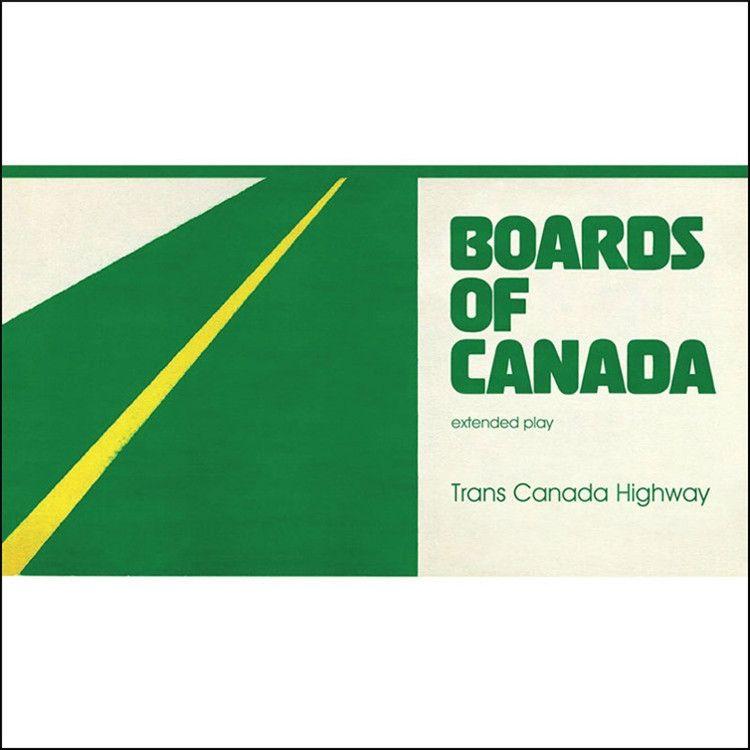 Boards Of Canada Trans Canada Highway Vinyl Lp Sticker Download Card Boards Of Canada Trans Canada Highway Sticker Download