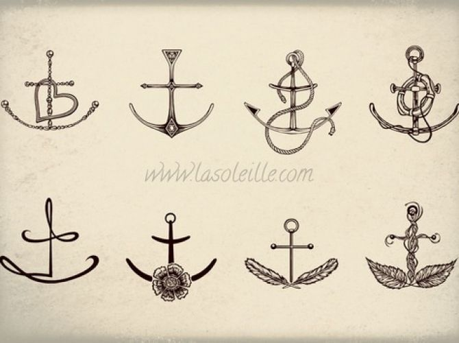 Anchor Tattoo Ideas | Ruth Tattoo Ideas============ love anchor tattoo. want one behind my ear | FollowPics
