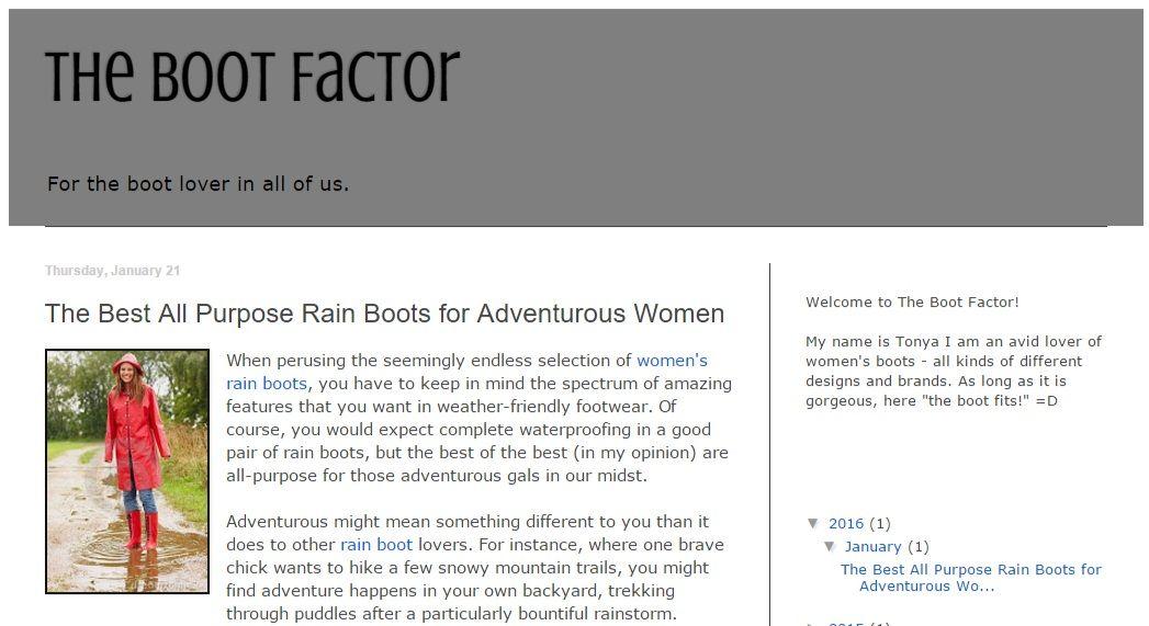 Womens Boot Brands - Boot 2017