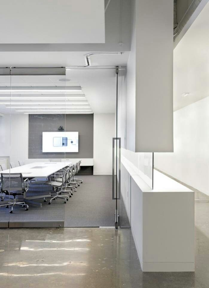 Meeting Space In White Background