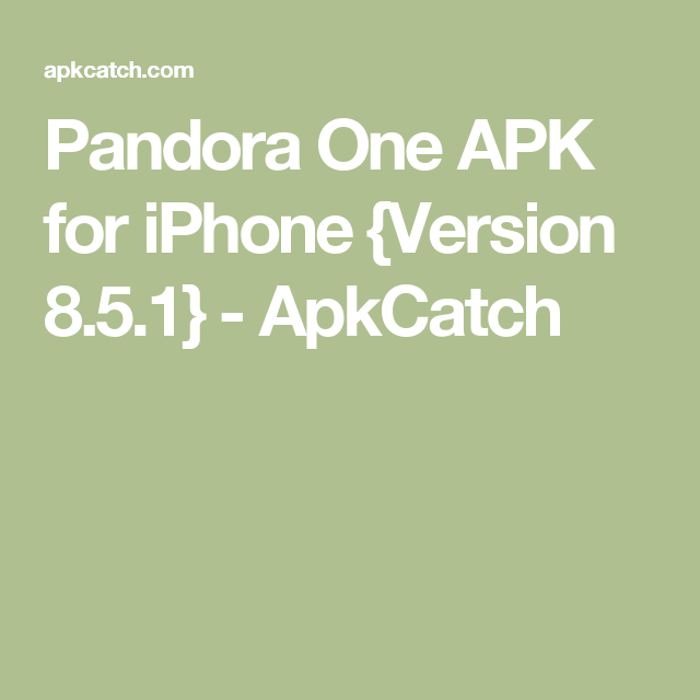 pandora one apk 7 4