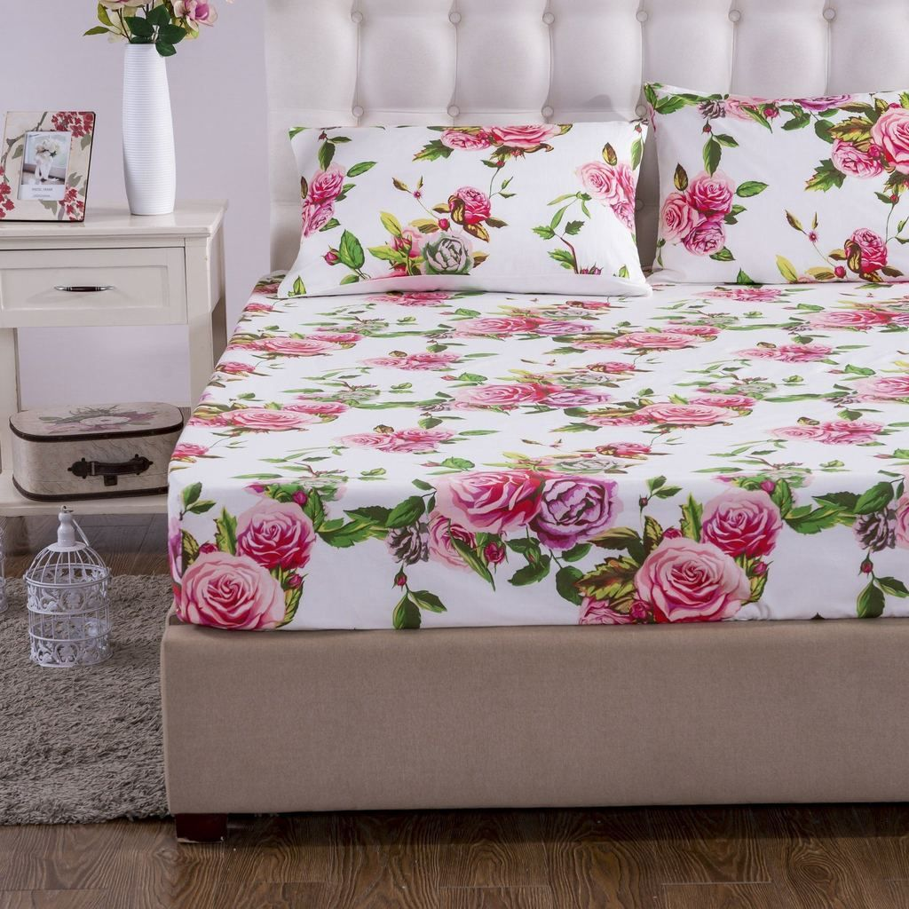 Dada bedding romantic roses lovely spring pink floral