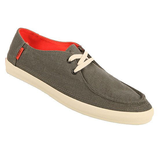 mens vans rata vulc charcoal spicy orange