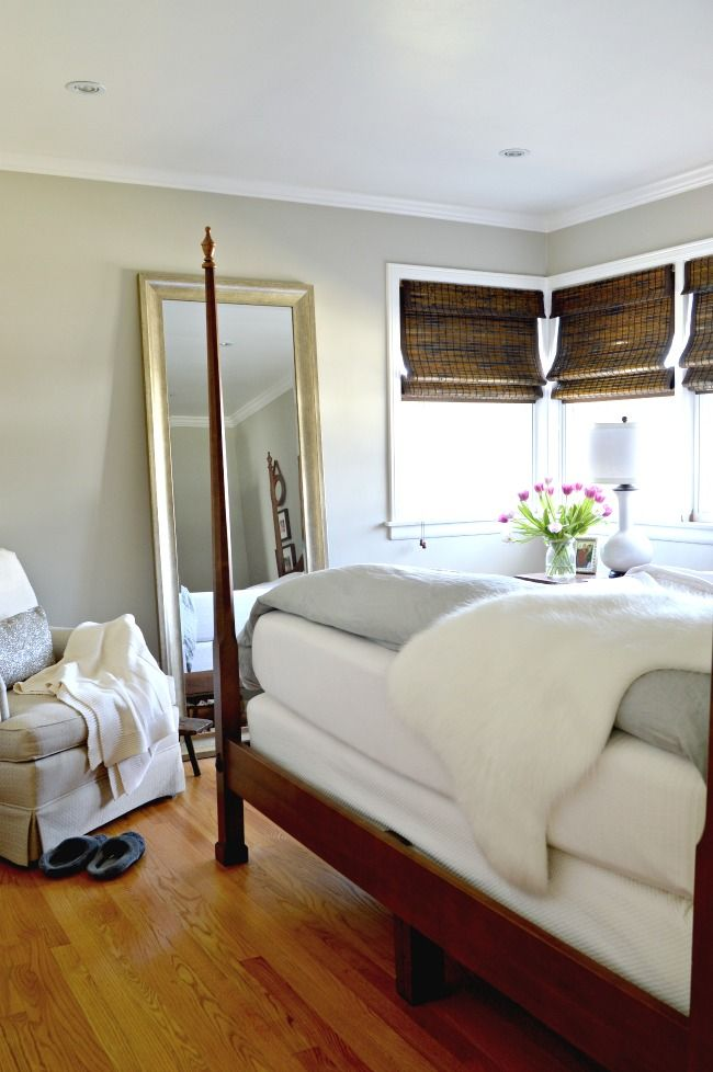 Benjamin Moore Hazy Skies Used In The Master Bedroom Plus 6 Other Great Gray Paint Colors That You Can Use Your Home