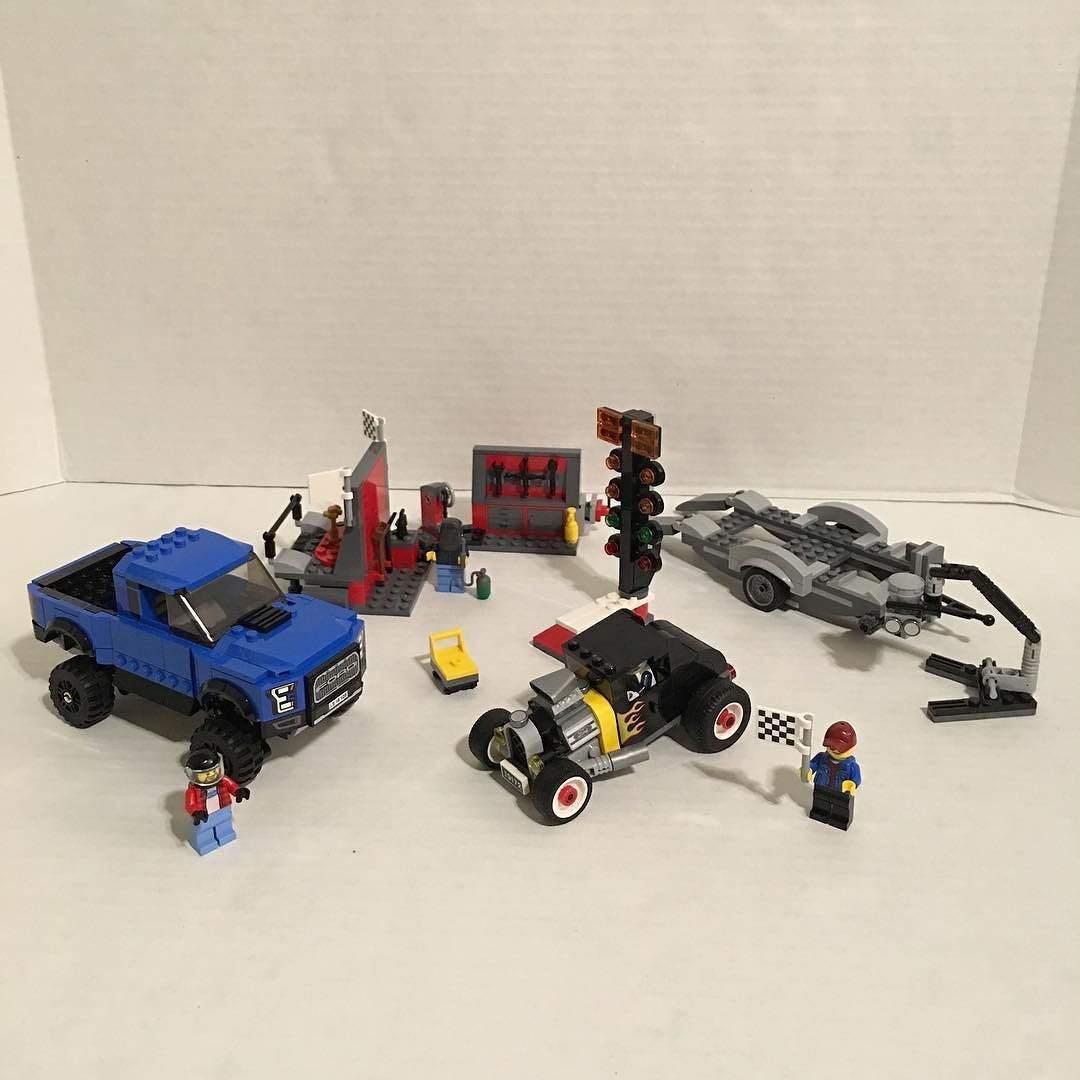 The Lego Speed Champions Ford F-150 Raptor & Ford Model A Hot Rod set!!!!!!!!!!!! by chris_zappia