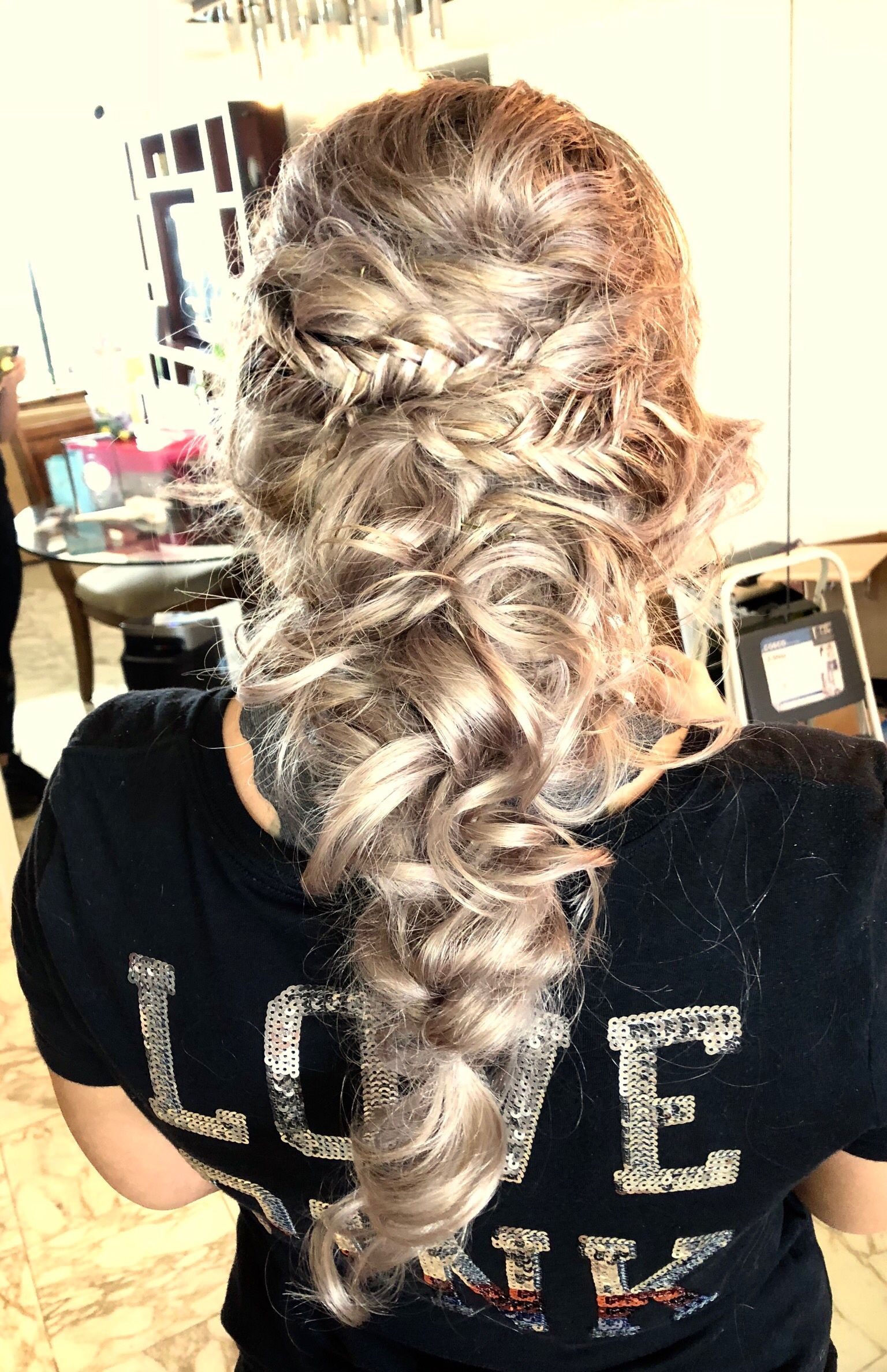 Hairstyle from my trial session with this