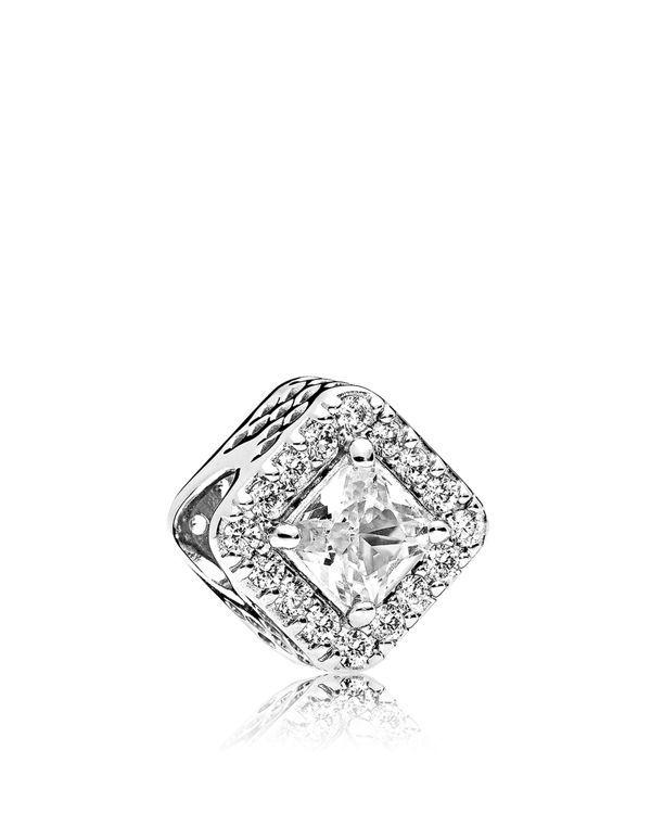 Pandora Women Silver Bead Charm - 796206CZ cWHCfiIXdP