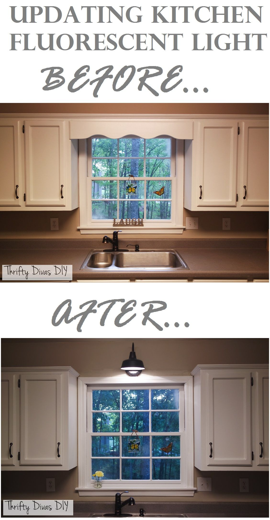 Outdated Wood Valence Makeover Wood Valance Diy Kitchen Cabinets Kitchen Cabinets