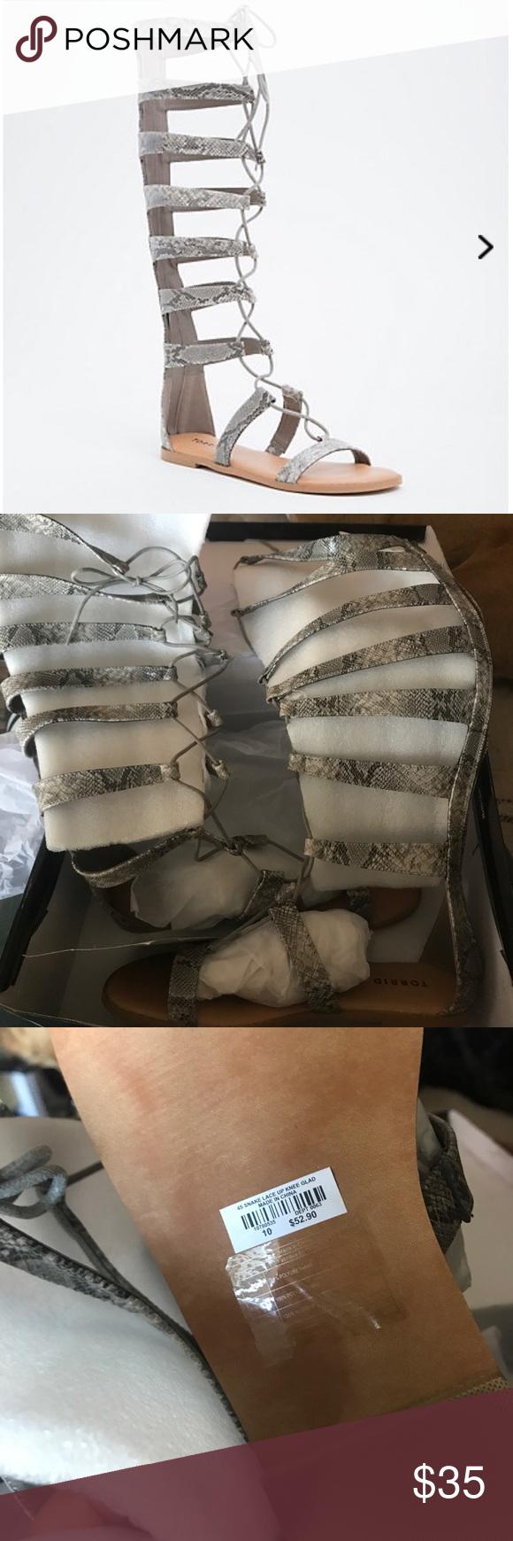 44796ca0af26 torrid 10W lace up gladiator sandals wide width Boutique