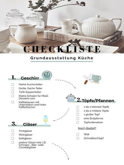 Grundausstattung für Ihre Küche – Unsere besten Basics