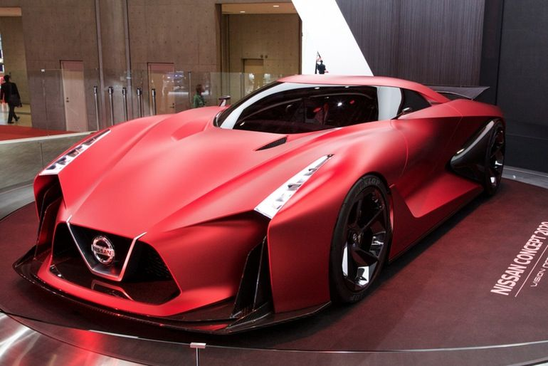 The Nissan Concept 2020 Vision Gran Turismo is one of the