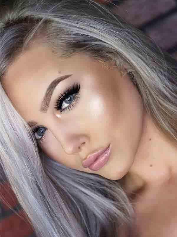 Polar Lights Blue Grey Colored Contact Lenses Makeup Makes Me