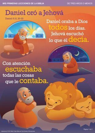 Ora A Dios Daniel 6 Mis Primeras Lecciones De La Biblia Lecciones De Biblia Para Preescolar Lecciones De La Biblia Texto Biblico Para Niños