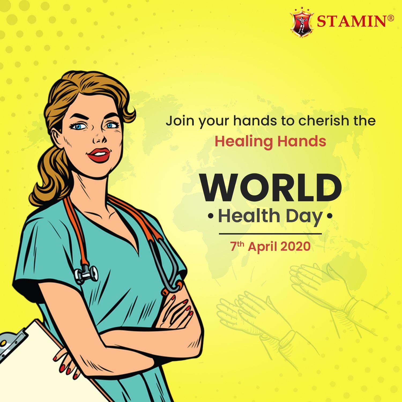 World Health Day Stamin Millennium in 2020 World