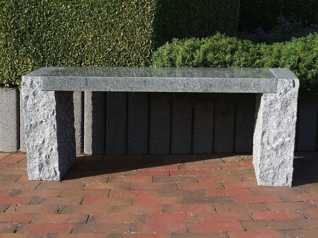 Granit Gartenbank Dehner Stein Natur Garten Garten Ideen