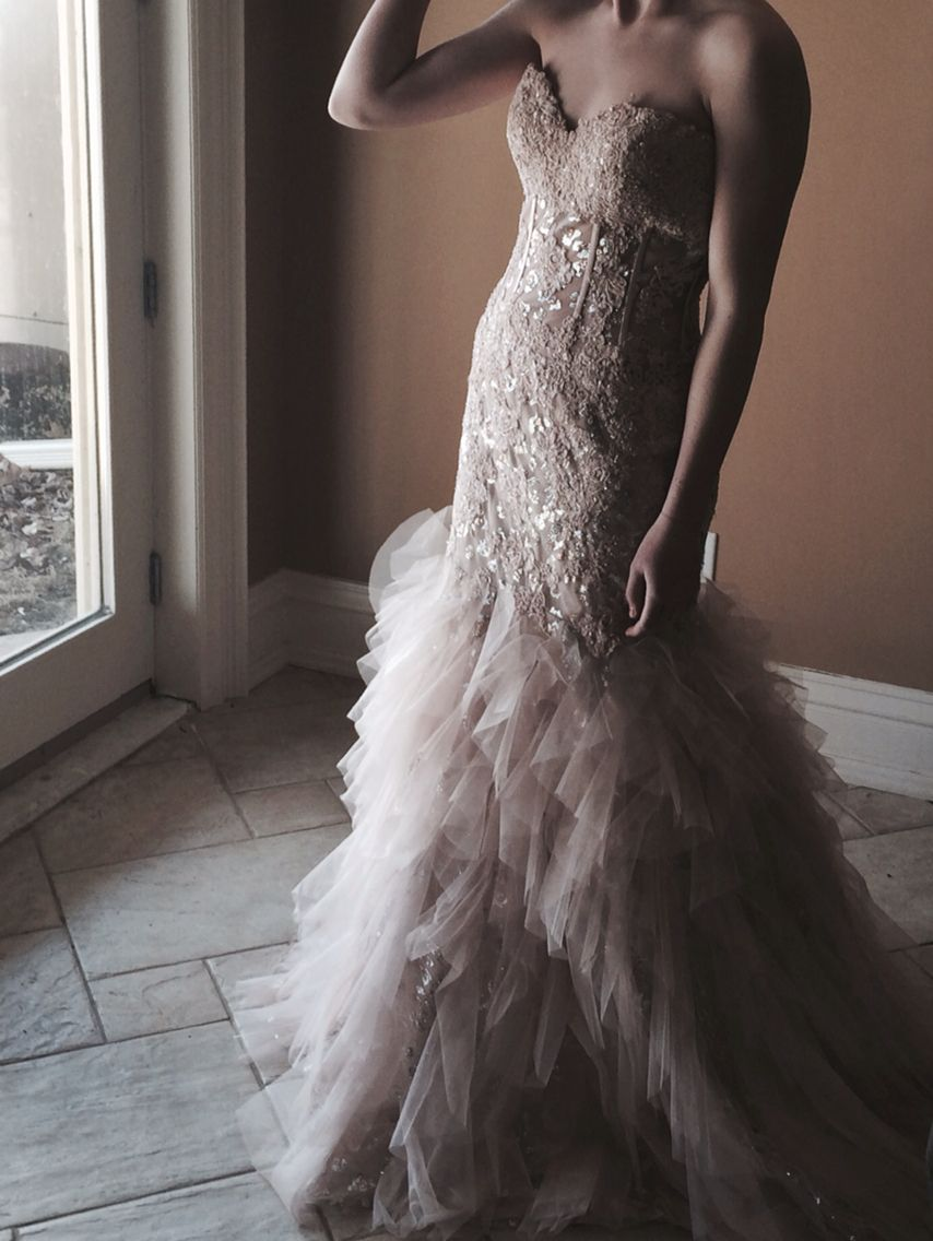 My beautiful dress, thanks to A Touch of Grace in Watertown, NY ...