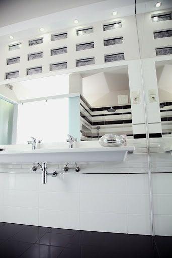glass brick silver in bath (Poesia del vetro) Distribué par - Brique De Verre Exterieur Isolation