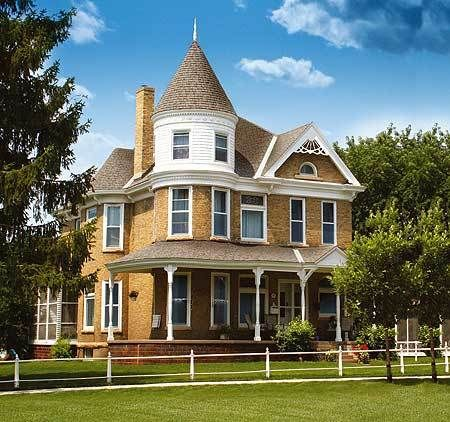 Plan 80723pm Glorious Turret Victorian House Plans Victorian