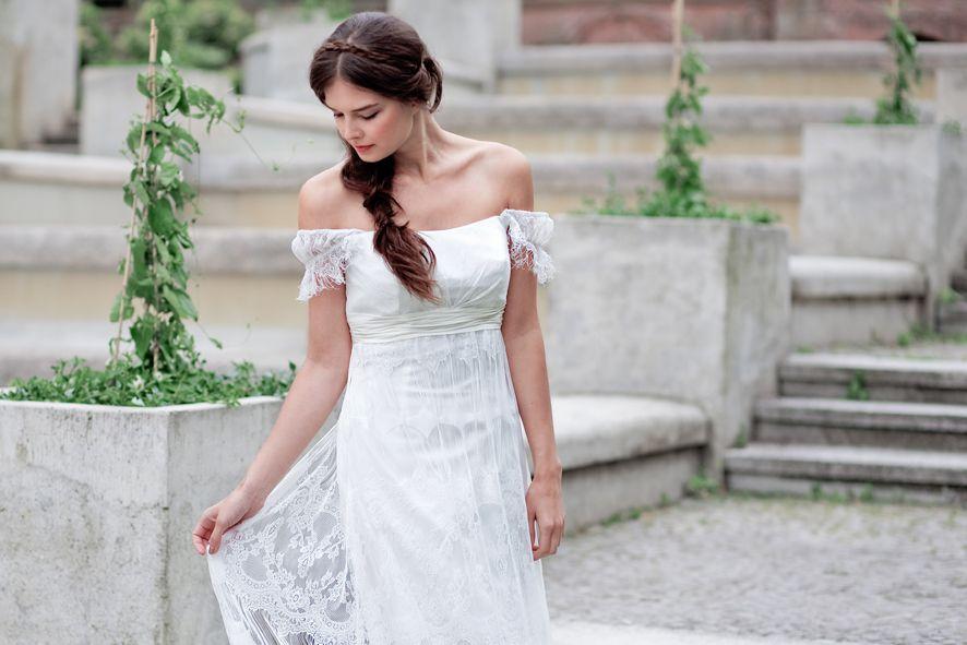 Felicita Design. Vintage Dress. Lace, Silk Wedding Brautkleid ...