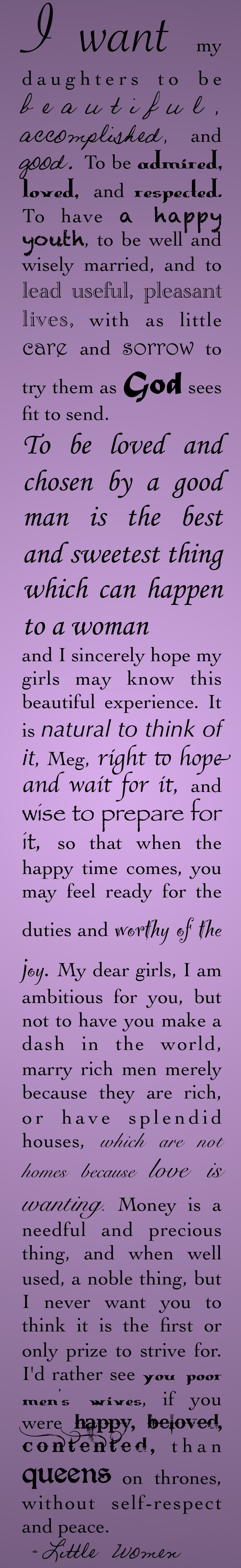 Pin By Mary Catherine Thompson On Literarally Fantastic Little Women Quotes Quotes About Motherhood Woman Quotes