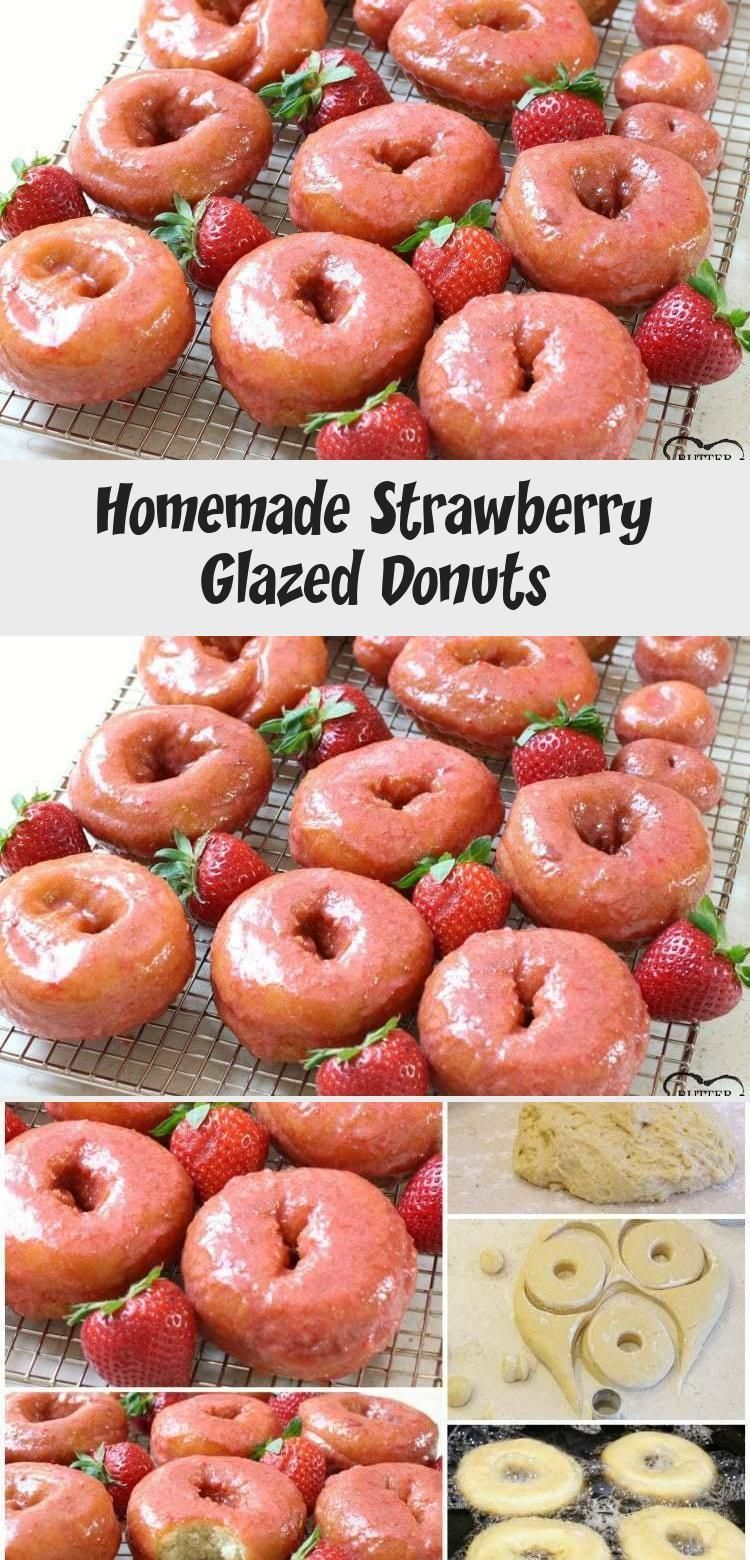 Incredible recipe for homemade Strawberry Glazed Donuts