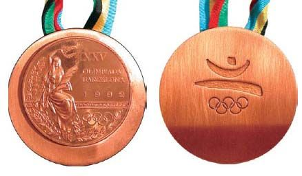 Barcelona Olympic Medals Olympic Medals Pinterest - Olympic medal count 1992