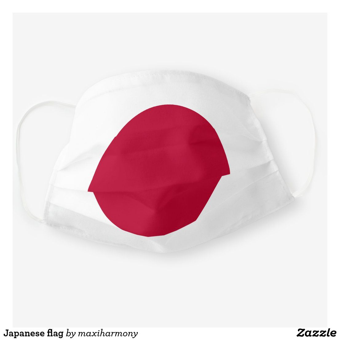 Japanese flag cloth face mask in 2020 face