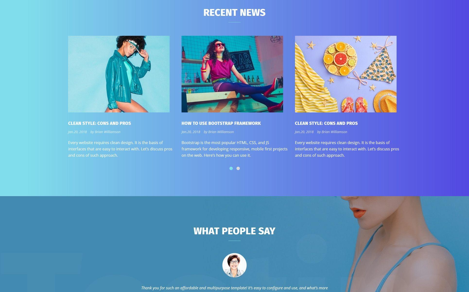 Design Company Responsive Html Template Html Website Templates Website Template Design Company