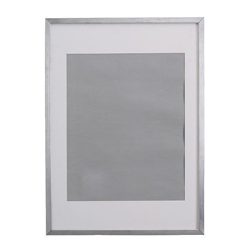 ribba frame aluminium colour 2499 width 42 cm height 52 cm article